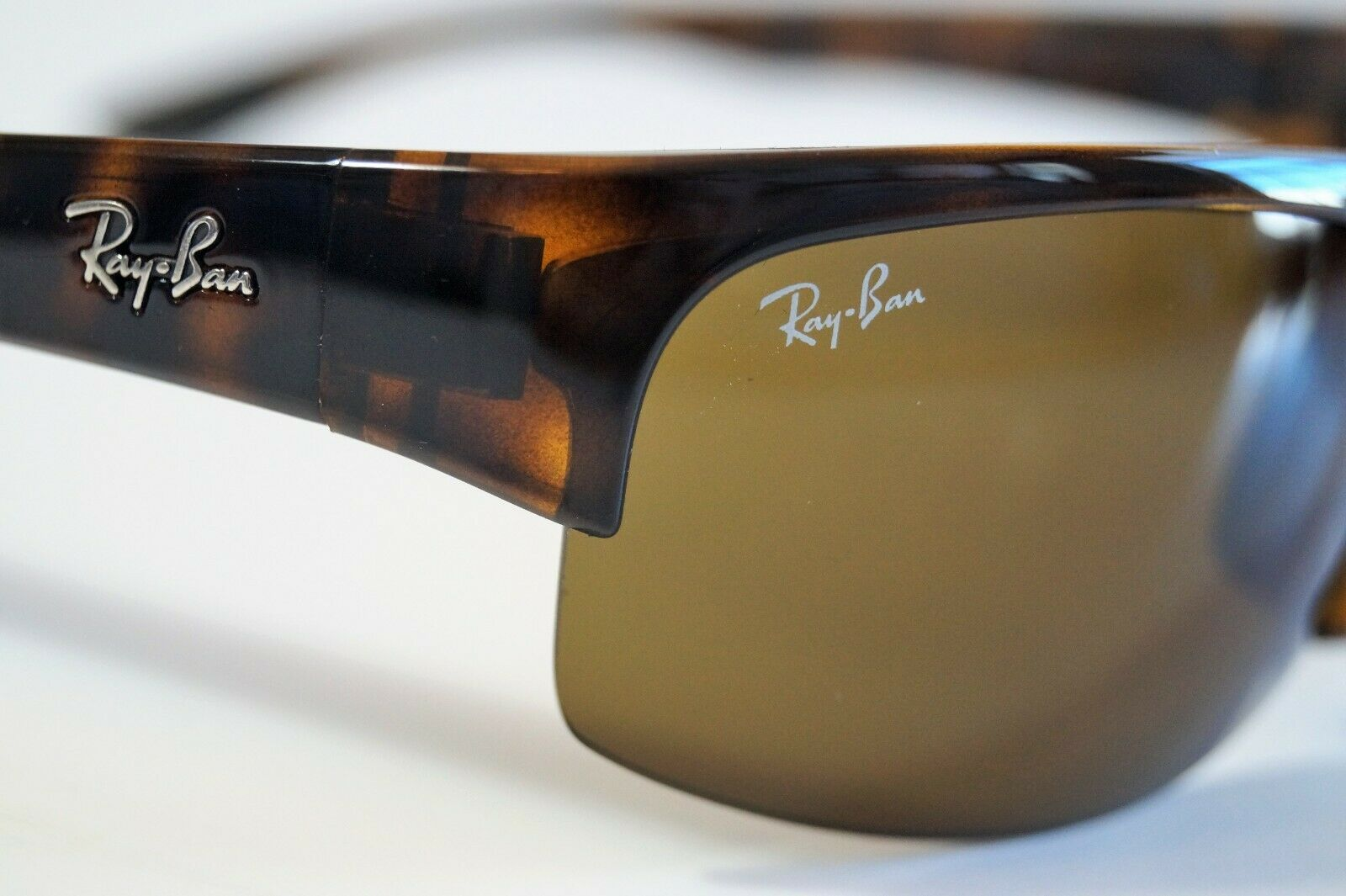 e0198620c4 Ray-Ban RB 4173 710 73 Sport Wrap Tortoise Sunglasses Classic Brown Lens  62mm for sale online