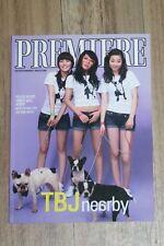 "Wondergirls RARE 2008 PROMO MAGAZINE ""PREMIERE"" Yeeun,Sohee,Sunmi Sunye,Yubin,"