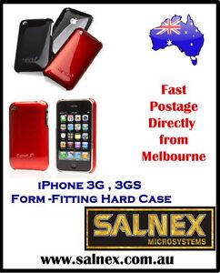 Cygnett-Fluoro-Tint-Slim-Case-for-iPhone-3G-amp-3GS-Screen-Protector-034-Orange-034
