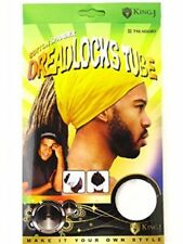 King J Cotton Spandex Dreadlocks Ultra Stretch Cover Loc Hair #710 Assort Colors