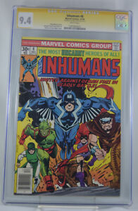 Inhumans-8-CGC-9-4-Signed-by-George-Perez-1975-Signature-series