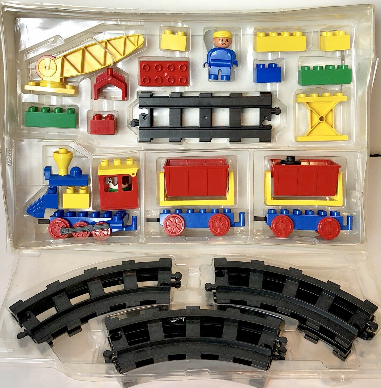 Duplo Lego 1983 Vintage  2700 Freight Train Set - NO Box But Complete