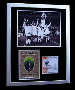 LEEDS-UNITED-1972-FA-CUP-FINAL-LIMITED-Numbered-FRAMED-EXPRESS-GLOBAL-SHIPPING