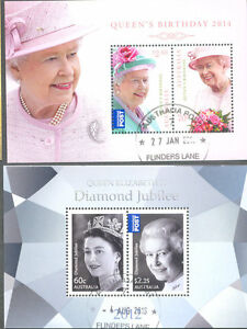 Australie-Queen Elizabeth 2 m feuilles fines utilisées CTO-n Elizabeth 2 min sheets fine used ctoafficher le titre d`origine E9g7bQ9H-07165304-825739412