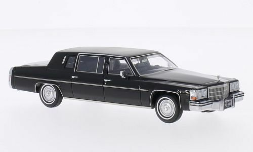 NEO 45330 - Cadillac Fleetwood Formal Stretch Limousine nero - 1980   1 43