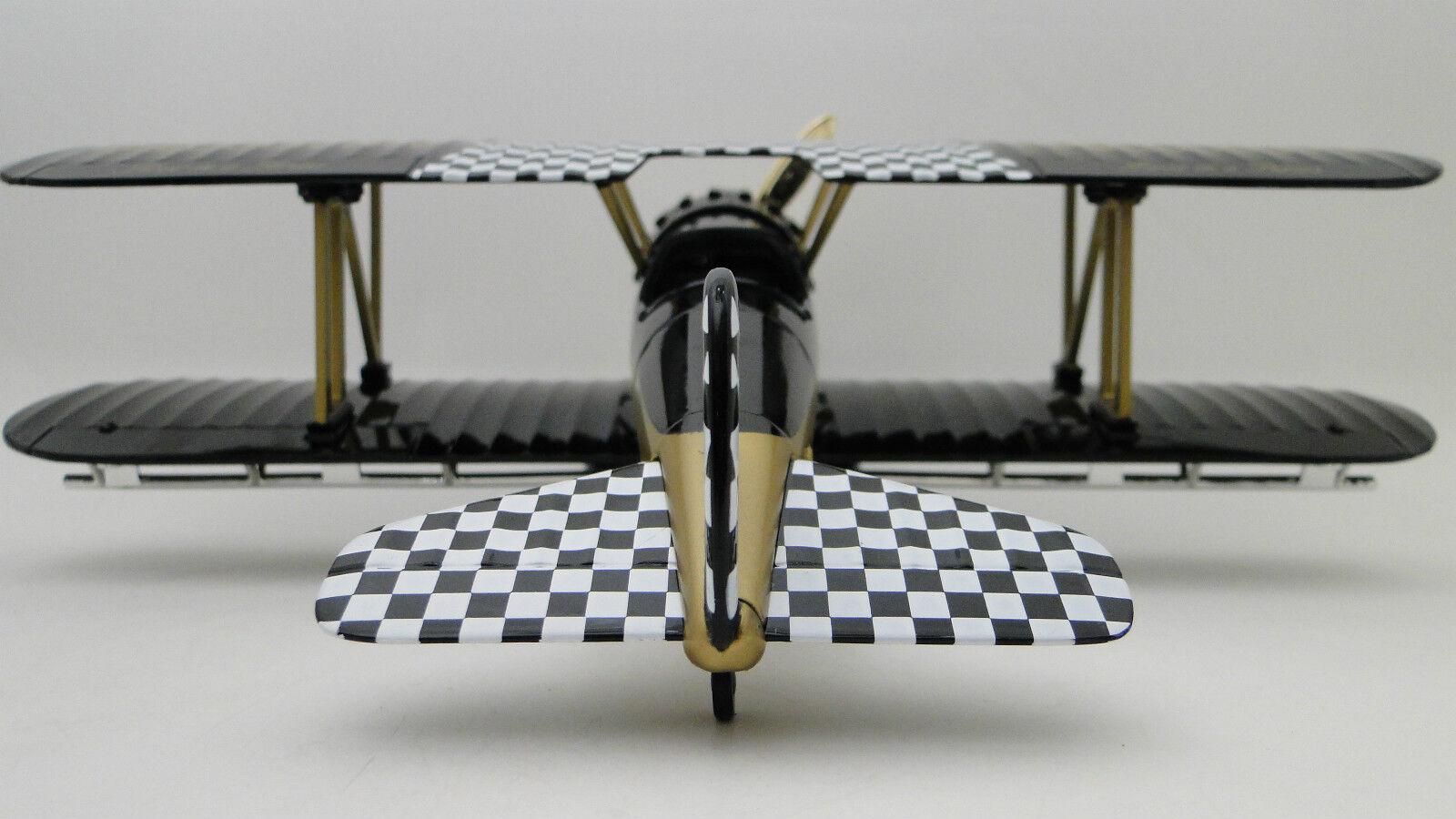 1 avión aeronave Metal Diecast Modelo Vintage Antiguo armadura militar WW1 48