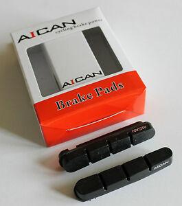 Aican Road Brake Pads Inserts Black Fit Shimano Kool Stop