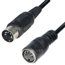 wählbar Audio Kabel Klinke Cinch DIN XLR Stecker Buchse vergoldet 2,5 3,5 6,3mm