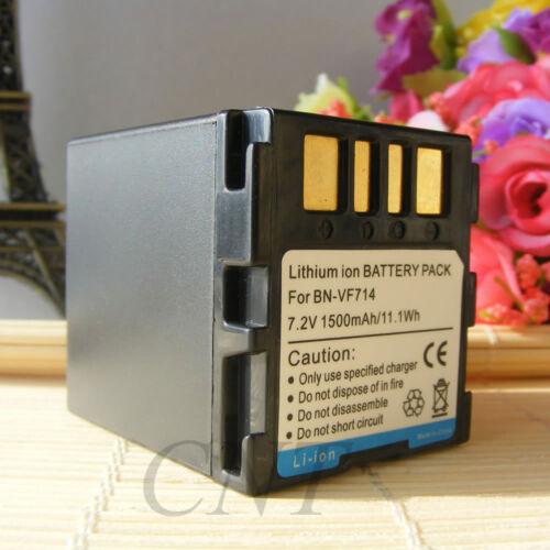 Battery For JVC GZ-MG21EK GZ-MG21EX GZ-MG21U BN-VF714L 1500mAH