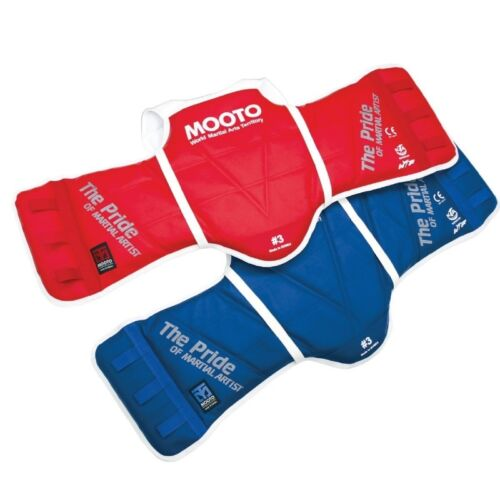 MOOTO TaeKwonDo Reversible Chest Guard WTF KTA Approved Protector