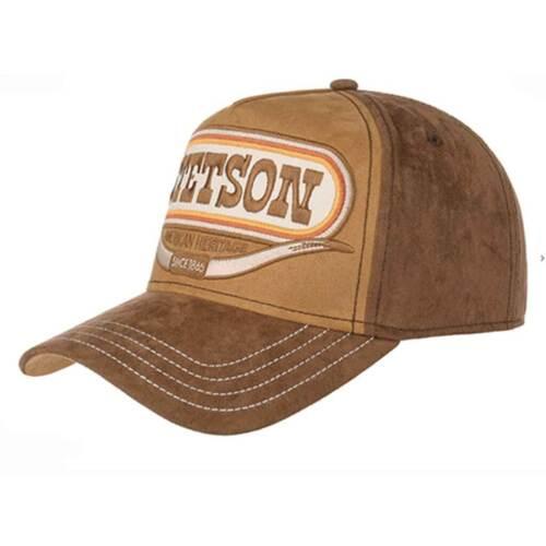 femme Casquette Trucker Cap Buffalo Horn  STETSON  marron Western homme