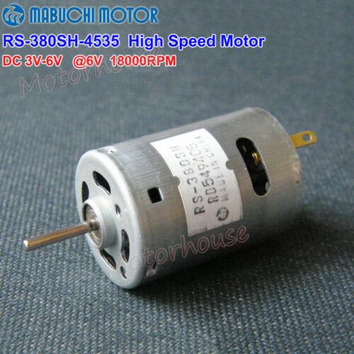 Mabuchi RS-380SH Motor DC 3V~6V 18000RPM High Speed Large Torque Electric Tool