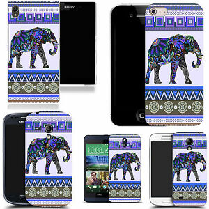 art-case-cover-for-All-popular-Mobile-Phones-purple-elephant-silicone