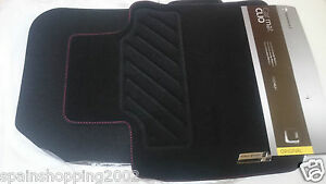 4 tapis de sol textile renault sport clio iv 4 2012 2018 rs original 8201657950 ebay. Black Bedroom Furniture Sets. Home Design Ideas