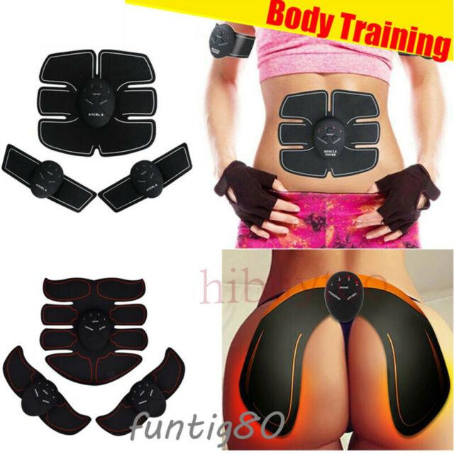 EMS Bauchmuskel Trainer Damen Gesäß Stimulation Po Push Up Muskel Trainingsgerät