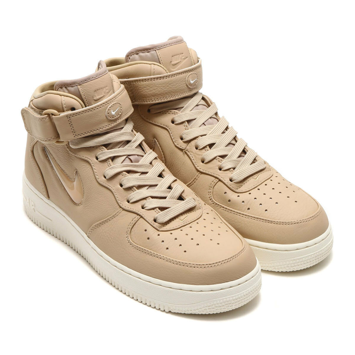 Nike Air Force 1 Mid Retro Premium JEWEL PRM Mushroom 941913 200 Hommes New