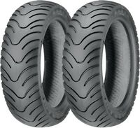 Kenda K413 Scooter Front & Rear Tire Set Tl (4-ply) 120/90-10 & 130/90-10 on sale
