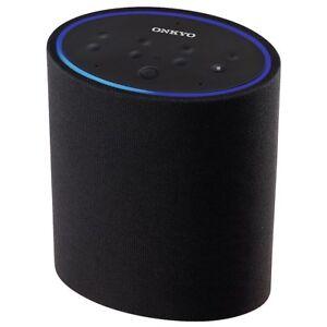 Onkyo-VC-PX30-B-schwarz-SmartSpeaker-P3-Alexa-Sprachsteuerung-Internetradio
