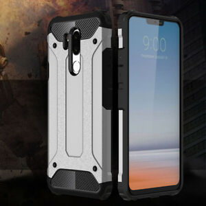 super popular c7ebb 47557 Details about For LG G7 ThinQ Protective Hybrid Shockproof Hard PC Cover  Soft Silicone Case