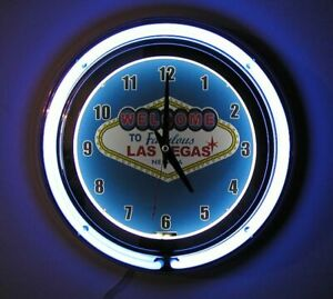Welcome-To-Las-Vegas-Sign-2-Ring-Neon-Clock