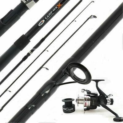 Carp Max 12ft 2pc 2.75lb Test Curve Fishing Fishing Rod Plus Carp Reel New