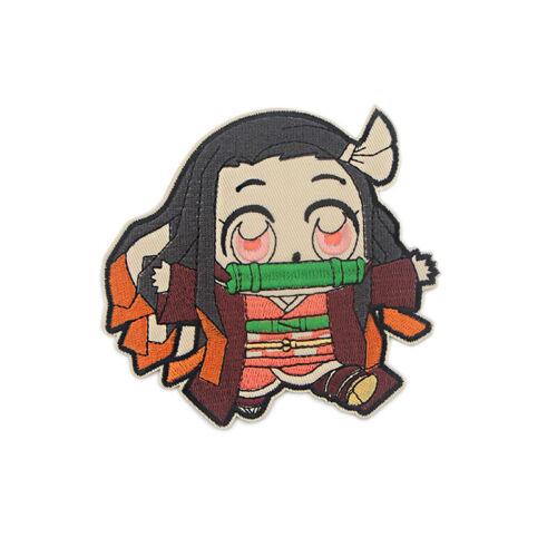 Demon Slayer Kamado Nezuko Embroidery Patch For Cloth Iron on Patch DIY Sticker