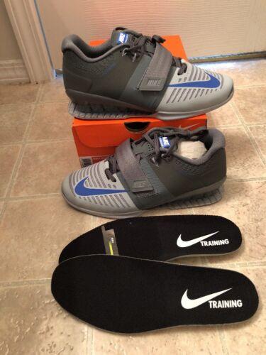 release date 90f02 63184 Racer 852933 Romaleos chaussures Cool d haltérophilie 3 15 Nike Sz Grey  Blue 001 nRYOvwxq