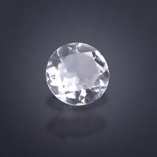 5 Bergkristalle ca. 14 mm Rund /  facettiert / Quartz (Box)