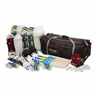 Ram Cricket Challenger Team Kit Bundle - Junior - Bats, Pads, Gloves, Bag & More