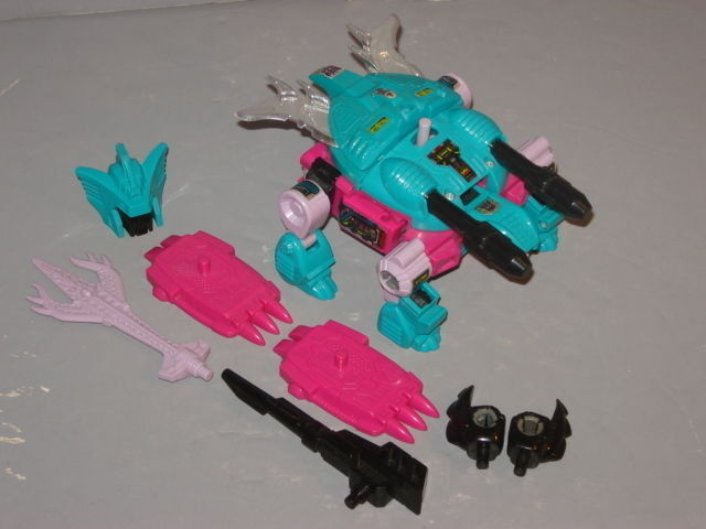 G1 TRANSFORMER SEACON PIRANACON SNAPTRAP COMPLETE PROF CLEANED LOT