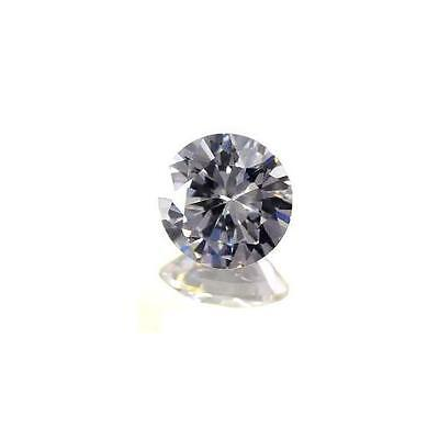 (1.5mm - 50mm) Round (AAA) White Cubic Zirconia **View Video**