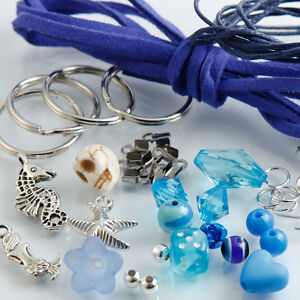 Selber Machen Schlüsselanhänger Paket Basteln Perlen Anhänger