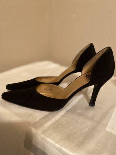 Stuart Weitzman Black Dressy Heels 7.5 AAA