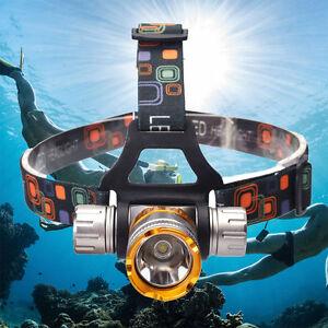 Underwater-50M-2000Lm-XM-L-T6-LED-Swimming-Headlight-Diving-Headlamp-Waterproof