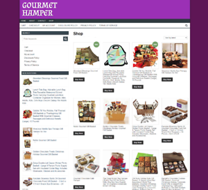 GOURMET-HAMPERS-UK-WEBSITE-FULLY-STOCKED-one-years-hosting-NEW-DOMAIN