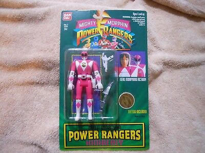 "5/"" Kimberly Action Figure Auto Morphin Power Rangers Bandai  New from 1994"