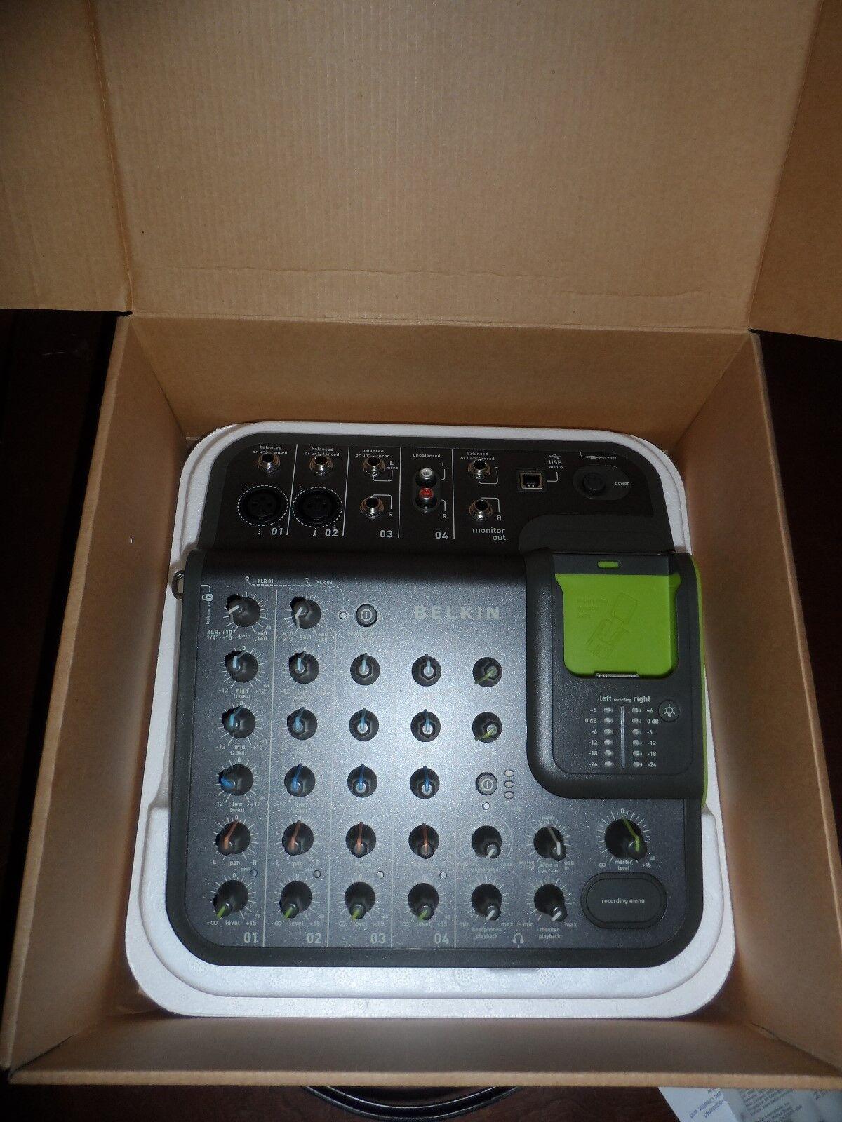 Belkin TuneStudio Portable Digital Multitrack Recorder for Ipod FBZ109 - NEU