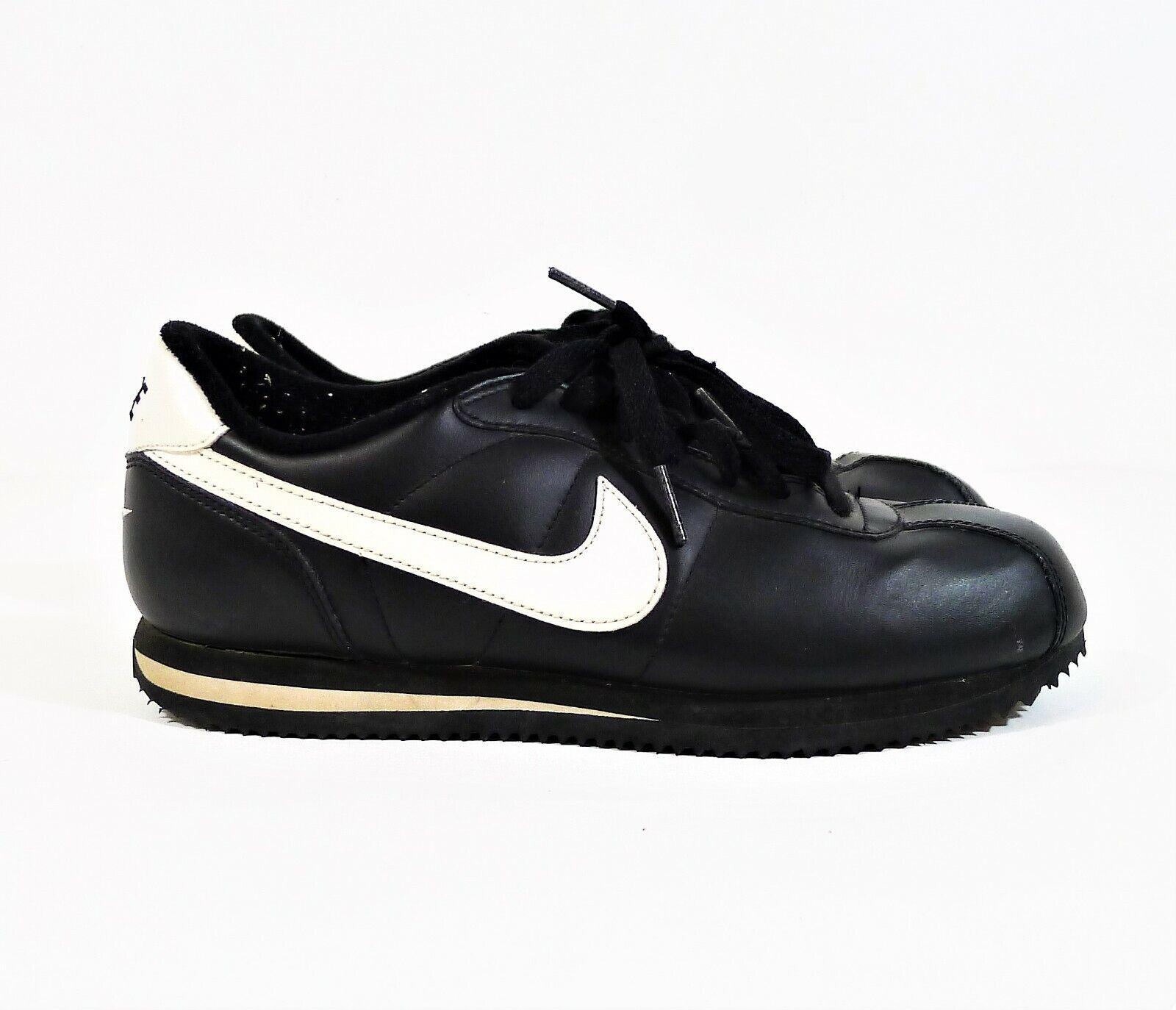 Nike Youth Black/White-Black Cortez GS