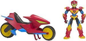 Puissance-Players-Playset-Vehicule-Moto-20cm-De-Axel-Avec-Figure-14cm-Original
