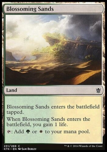 BLOSSOMING SANDS Magic KTK Mint 4x SABBIE VERDEGGIANTI
