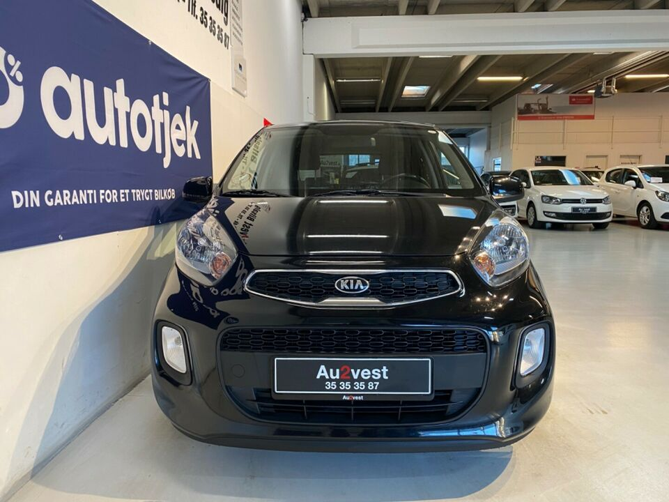 Kia Picanto 1,0 Attraction Benzin modelår 2016 km 87000