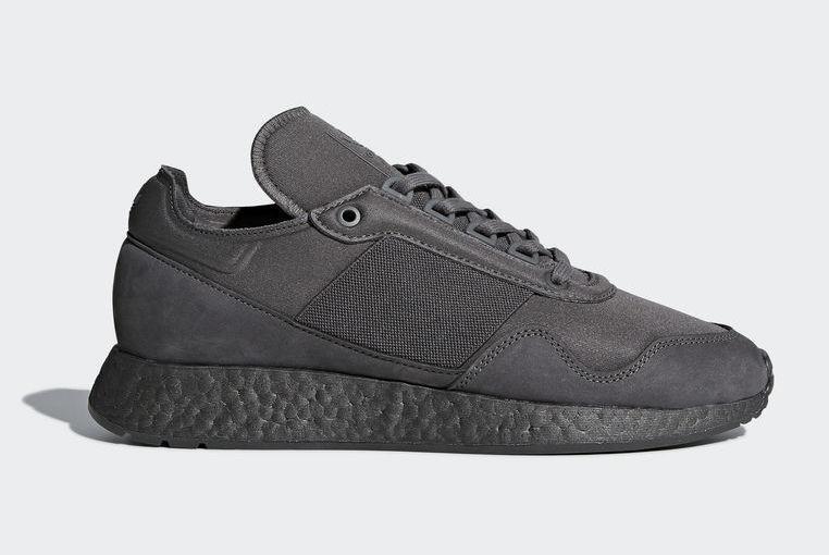 Mens Adidas x Daniel Arsham New York Present Dark  Gris  Noir DB1971