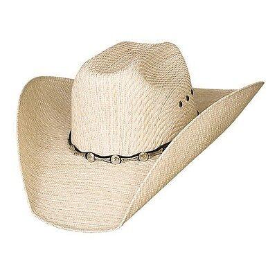 Bullhide Hats Justin Moore Backwoods Straw Western Cowboy Hat 2692