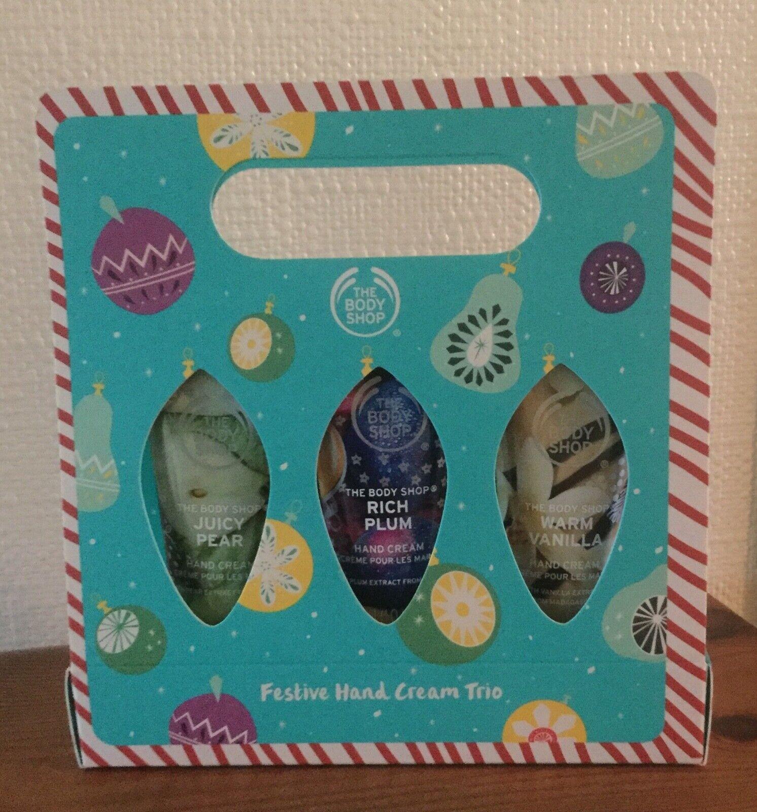 The Body Shop Festive Hand Cream Trio Gift Set