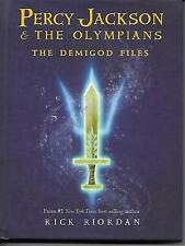 Percy Jackson and the Olympians: Demigod Files by Rick Riordan (Hardcover)