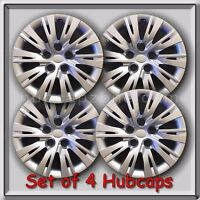 Set Of 4 16 Silver Toyota Camry Hubcaps 2012-2014 Replica Camry Wheel Covers