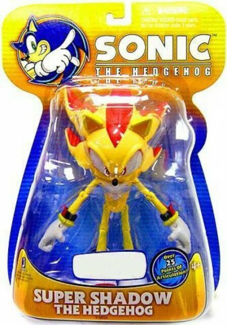 Jazwares Sonic The Hedgehog Exclusive Super Shadow Posers Wave 2 Action Figure For Sale Online Ebay