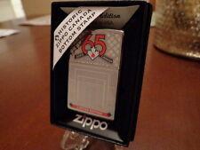 ZIPPO CANADA 65TH ANNIVERSARY ZIPPO LIGHTER LIMITED EDITION LOT OF 10