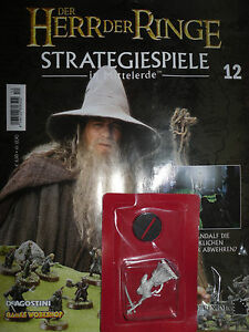 Der Herr der Ringe/Strategiespiele/DeAgostini/Ausgabe 12/GW/Gandalf Figur