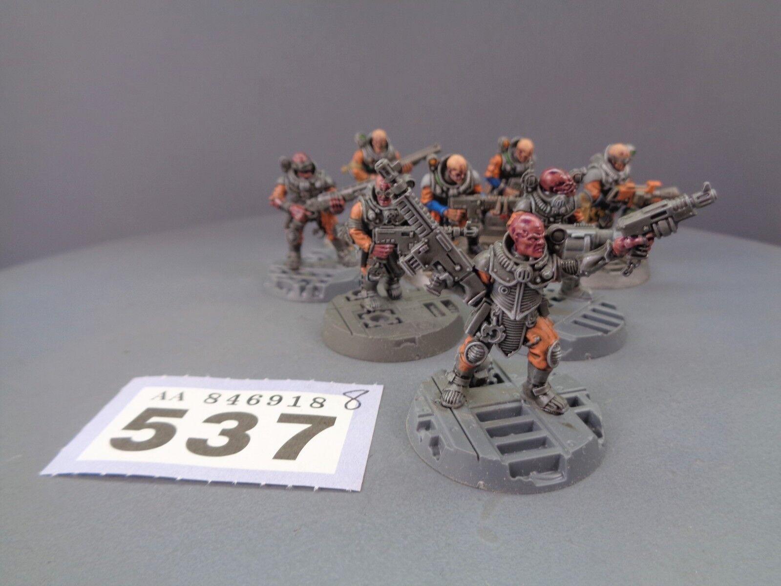 Warhammer 40,000 Tyranids Genestealer Cult Neophyte Hybrids 537